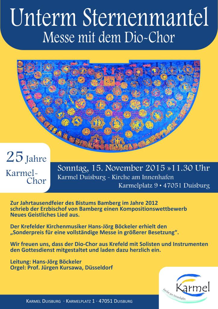 Unterm Sternenmantelv2 - Karmel Duisburg